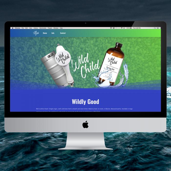 Wild Child Cold Brew Website