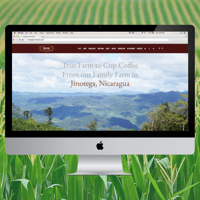 El Recreo Coffee Website